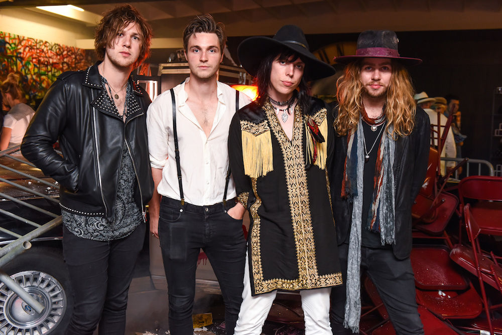 The Struts at GUNS N' ROSES WAS HERE: An Exclusive Retail Event in partnership with Maxfield and Bravado