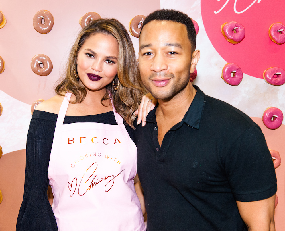 Chrissy Teigen and John Legend at Beautycon Festival Los Angeles 2017: Los Angeles Convention Center