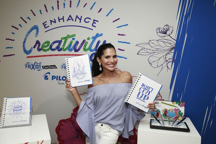 Joyce Giraud Real Housewives at the Pilot Pen & GBK Pre-Teen Choice Awards Celebrity Gift Lounge