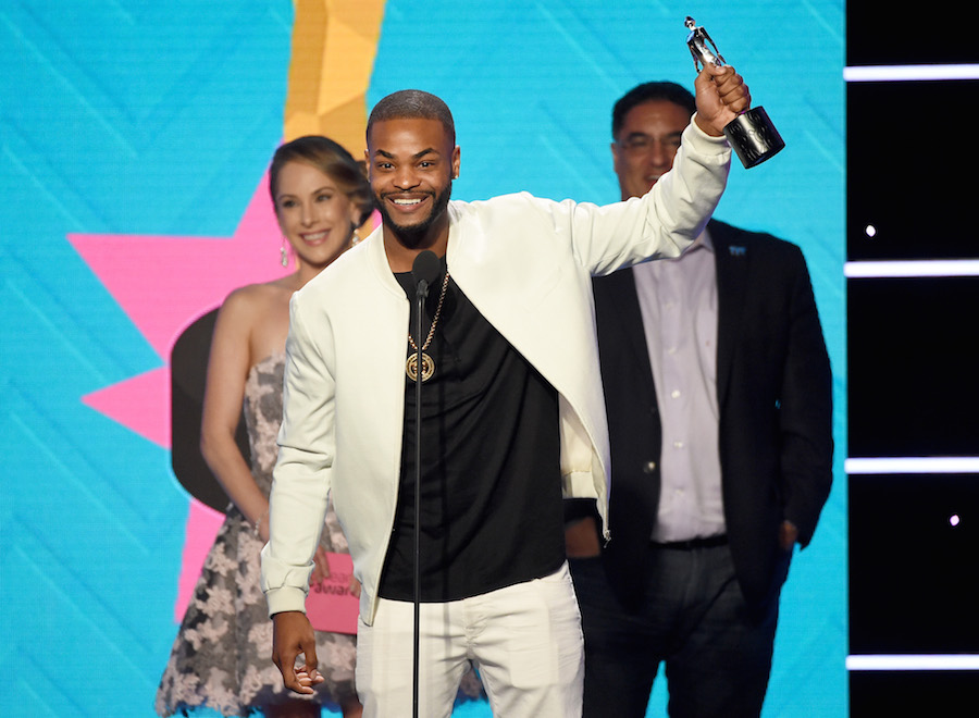 King Bach (C) onstage during the 2017 Streamy Awards at The Beverly Hilton Hotel on September 26, 2017 in Beverly Hills, California