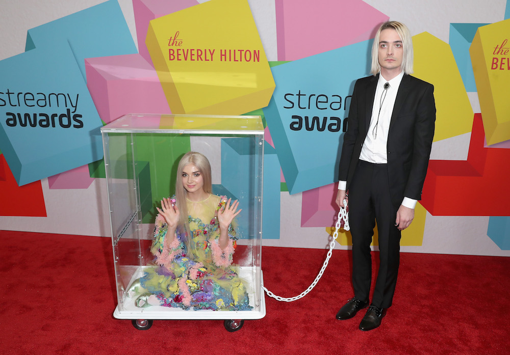 Poppy at the 2017 Streamy Awards at The Beverly Hilton Hotel on September 26, 2017 in Beverly Hills, California