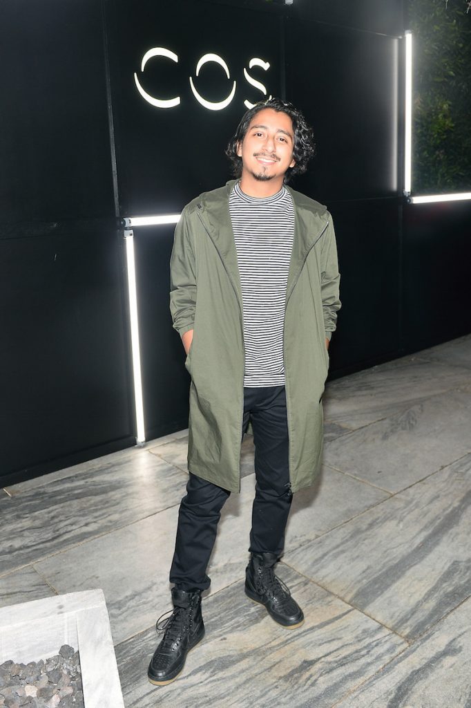 Tony Revolori attends COS DTLA Celebration at Ysabel on September 28, 2017 in Los Angeles, California