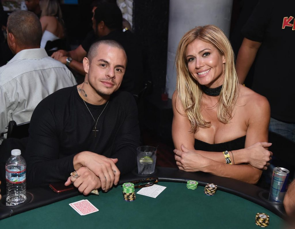 JLo's ex Beau Casper Smart and ARod's ex Torrie Wilson were seen getting close while attending the Heroes for Heroes: Los Angeles Police Memorial Foundation Celebrity Poker Tournament & Casino Night Party