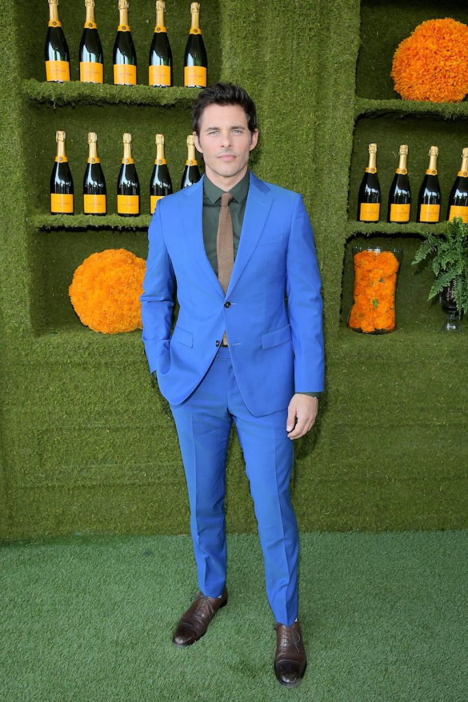 James Marsden at the Eighth Annual Veuve Clicquot Polo Classic on October 14, 2017 in Los Angeles, California