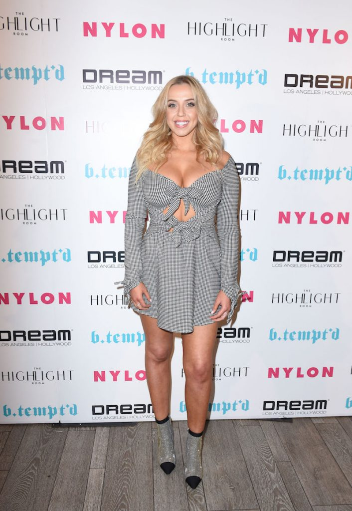 Violet Benson attends NYLON's It Girl Party At The Highlight Room At Dream Hollywood on October 12, 2017 in Hollywood, California