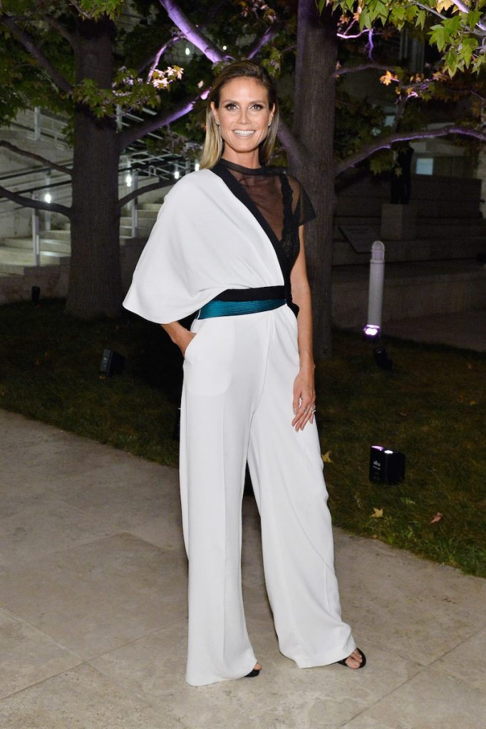 Heidi Klum attends the Third Annual
