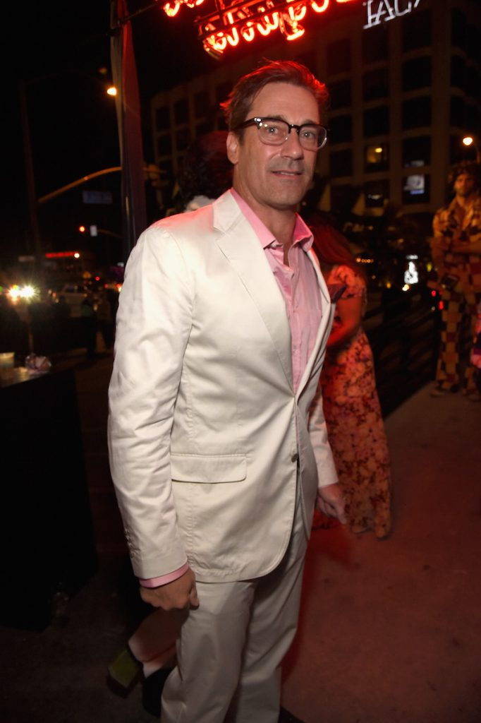 Jon Hamm attends Casamigos Halloween Party on October 27, 2017 in Los Angeles, California