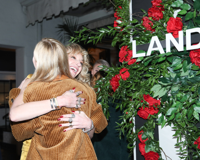 Kate Bosworth and Danita Short at the LAND of distraction Launch Party at Chateau Marmont on November 30, 2017 in Los Angeles, California