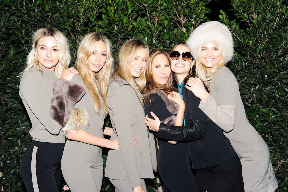 Ashleigh Austin, Cait Barker, Shannon Barker, Nicole Frank, Chloe Traichel, Louise M Mikkelsen attend the Nicole Frank: The Wardrobe Evolution Launch