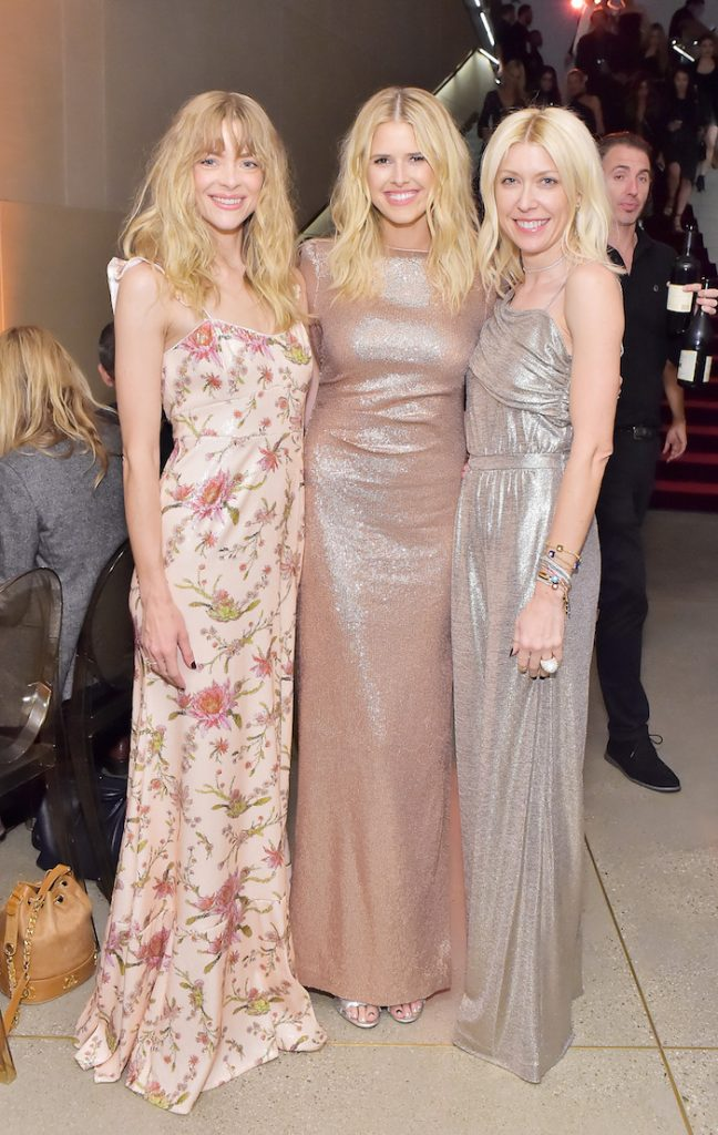 (L-R) Jaime King, Sarah Wright, and Shelley Gibbs attend Rachel Zoe Fall 2018 LA Presentation on February 5, 2018 at The Jeremy Hotel in West Hollywood, California