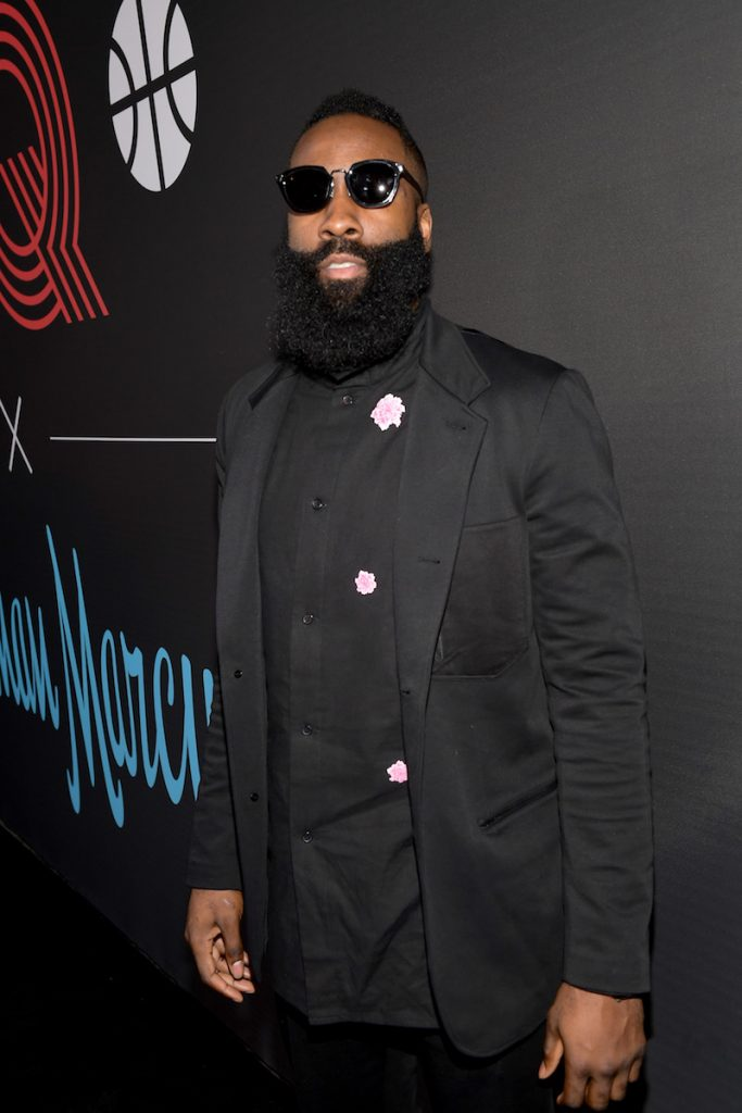 James Harden attends the 2018 GQ All Star Party at Nomad Los Angeles on February 17, 2018 in Los Angeles, California