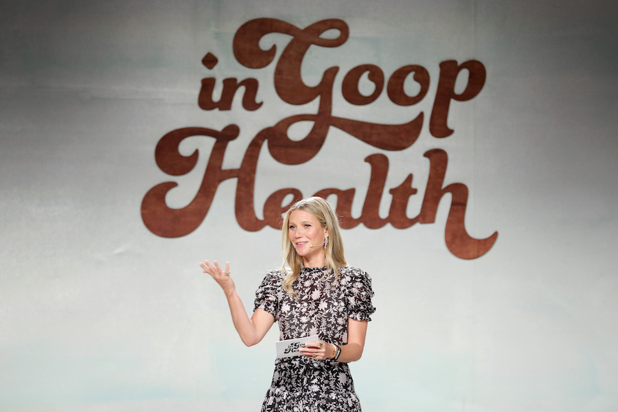 Gwyneth Paltrow speaks onstage at the In goop Health Summit at 3Labs on June 9, 2018 in Culver City, California
