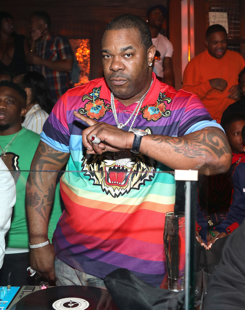 Busta Rhymes attends IGA X BET Awards Party 2018 on June 23, 2018 in Los Angeles, California