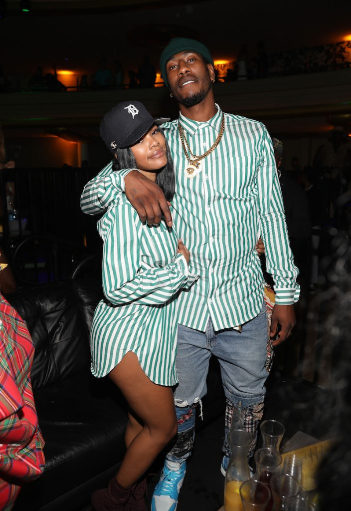 Teyana Taylor and Iman Shumpert attend The 2018 Maxim Hot 100 Party at Hollywood Palladium on July 21, 2018 in Los Angeles, California