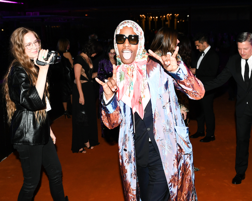 A$AP ROCKY at the 2018 LACMA Art + Film Gala: Presented by Gucci