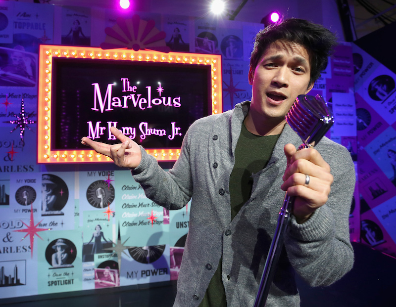 Harry Shum Jr. at Claim the Stage during Refinery29 Presents 29Rooms Los Angeles 2018: Expand Your Reality at The Reef on December 4, 2018 in Los Angeles, California
