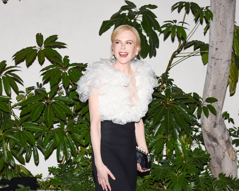 Nicole Kidman at the W Magazine Celebrates Its 'Best Performances' Portfolio and the Golden Globes: with Audi and Giorgio Armani Beauty