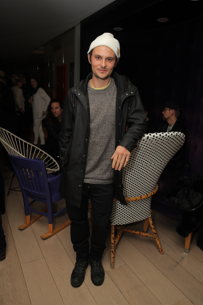 Shiloh Fernandez at the 'Refresh' exhibit for artist Matt Smiley at Mondrian Los Angeles, USA