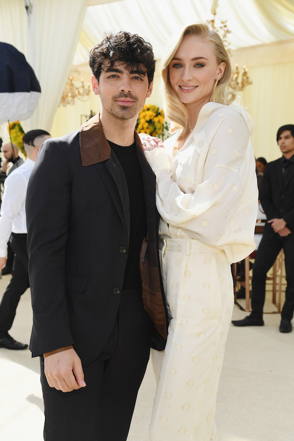 Joe Jonas and Sophie Turner attend 2019 Roc Nation THE BRUNCH on February 9, 2019 in Los Angeles, California