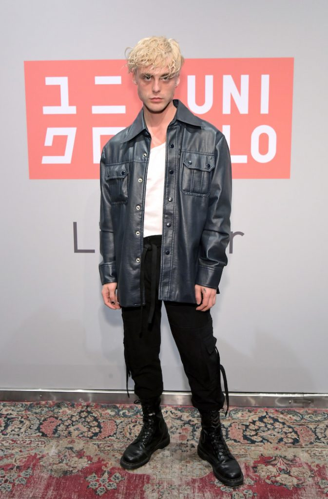 Hunter Munson attends the UNIQLO 2019 Collections Celebration at Smogshoppe on March 7, 2019 in Los Angeles, California