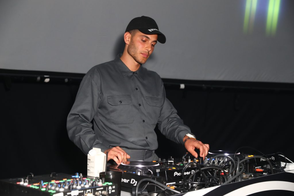 DJ Fai Khadra performs at the Cash App Dome  on April 13, 2019 in Indio, California