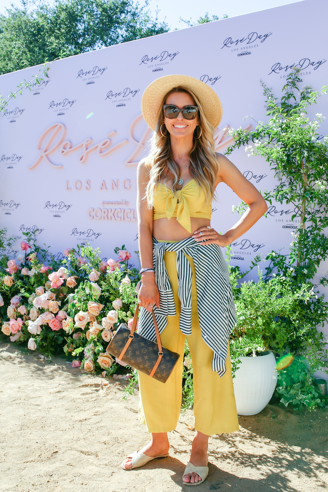Audrina Patridge attends Rosé Day L.A.: Presented By Corkcicle