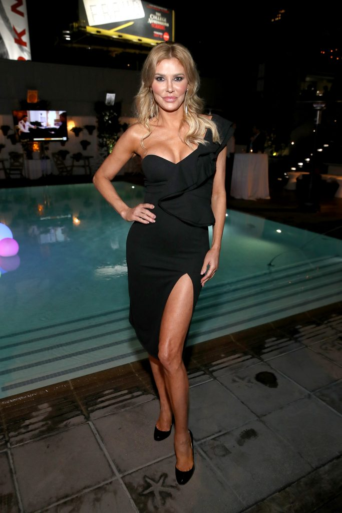 Brandi Glanville attends WE tv Celebrates the 100th Episode of the