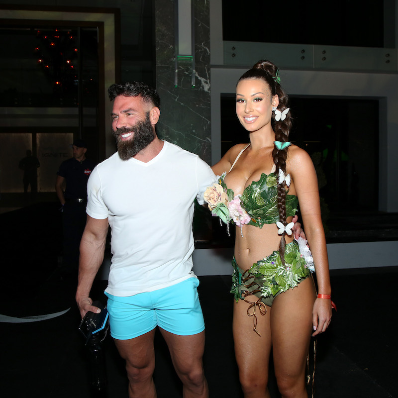 Dan Bilzerian attends Dan Bilzerian's Halloween Party sponsored by Ignite International, Ltd., Alister, and BlitzBet on October 24, 2019 in Los Angeles, California
