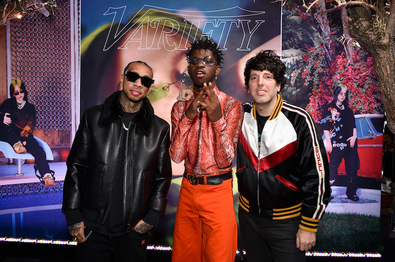 Tyga, Ron Perry and Lil Nas X at the Variety Hitmakers Brunch Sponsored by Citi