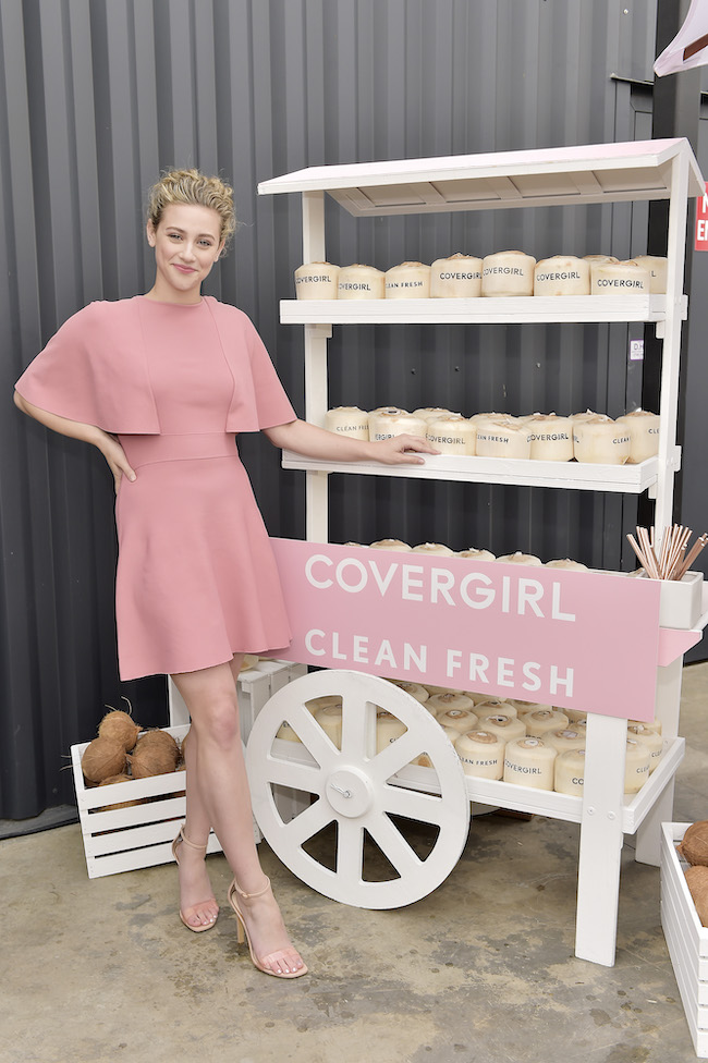 Lili Reinhart attends Covergirl Clean Fresh Launch Party on January 16, 2020 in Los Angeles, California