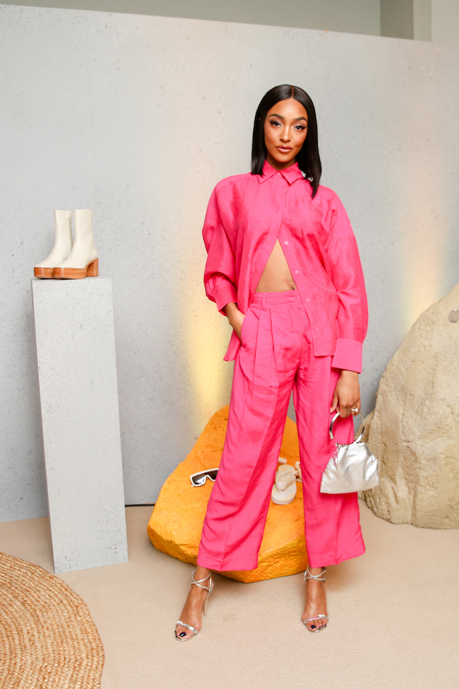 Jourdan Dunn attends H&M STUDIO SS20 EVENT LA