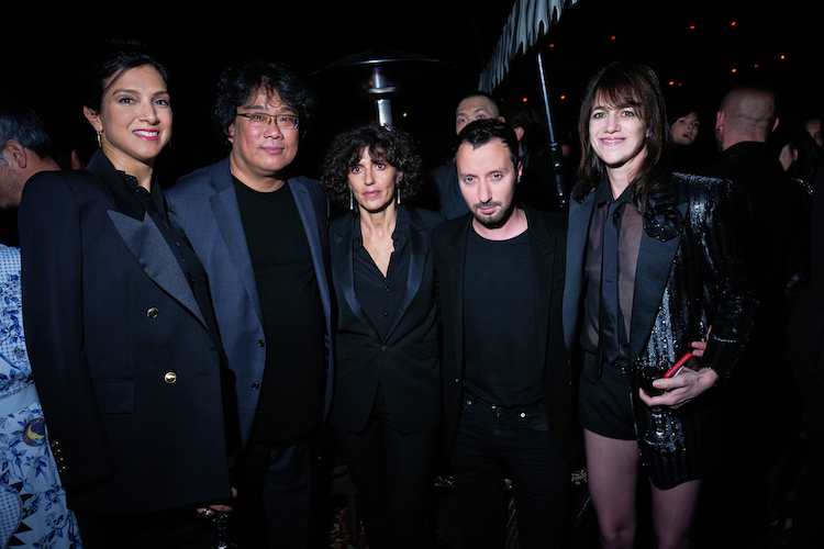 Vanity Fair and Saint Laurent Celebrate