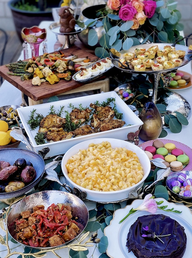 Easter-Table Spread