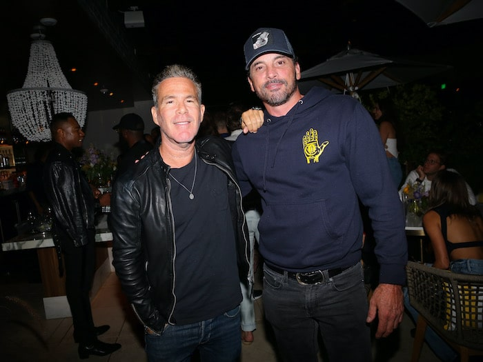 Scott Lipps and Skeet Ulrich at Thompson Hollywood Grand Opening Party at Bar Lis