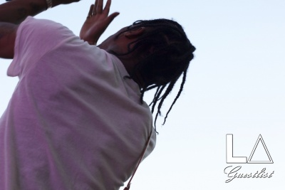 Travi$ Scott at Fool's Gold Day Off 2015