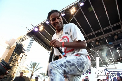 A$AP Rocky at Fool's Gold Day Off 2016 in Los Angeles